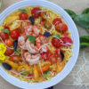 Tomato and Saffron Risotto Shrimp