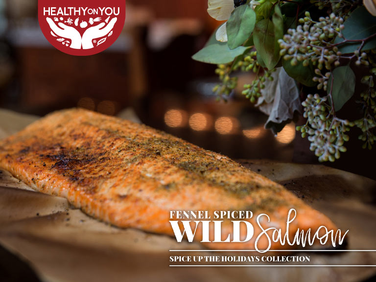 Fennel spice wild salmon recipe